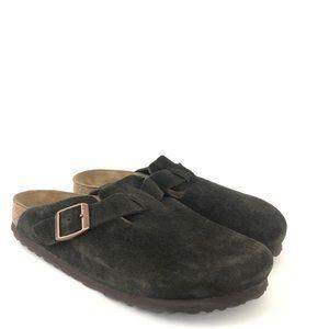 Birkenstock Size 38 L 7 M 5 Brown Slip On Mules